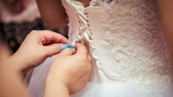piękna suknia ślubna z Krakowa