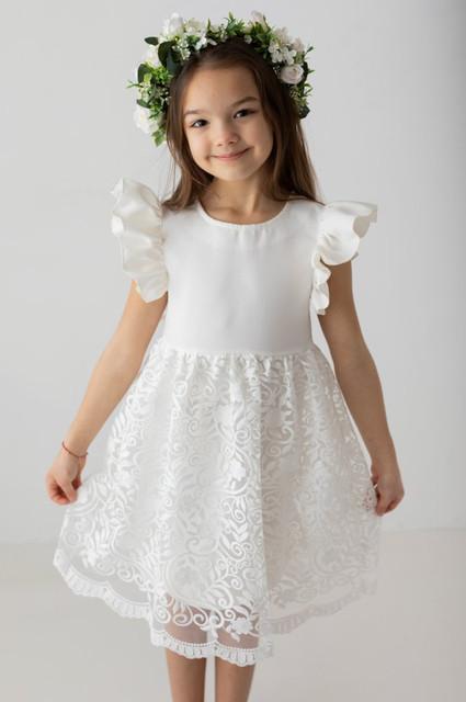 białe sukienki dla dziewczynek